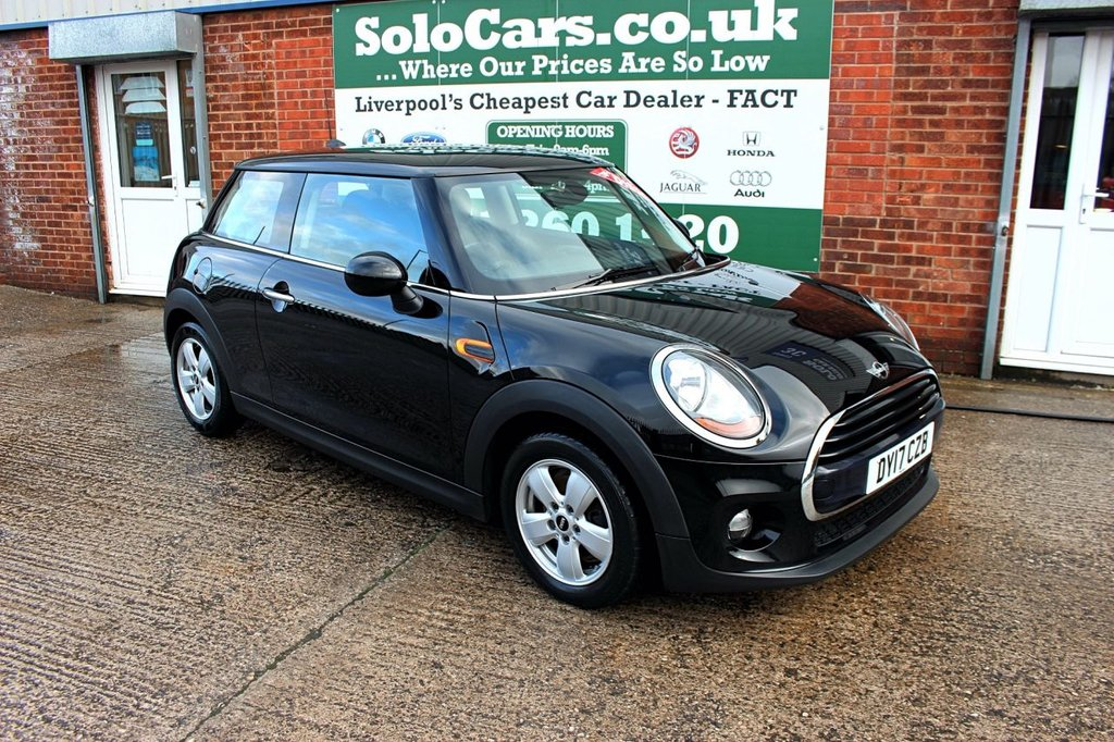 USED 2017 17 MINI HATCH COOPER 1.5 COOPER D 3d 114 BHP +ONE OWNER +HEATED SEATS +DAB.