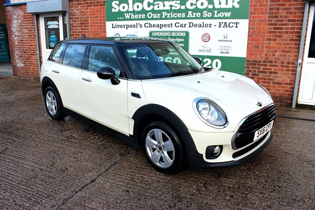 USED 2016 16 MINI CLUBMAN 1.5 COOPER 5d 134 BHP +LOW MILES +SERVICED +SAT NAV.