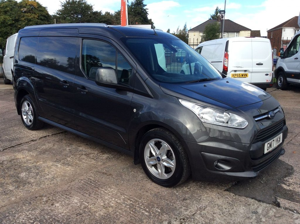 USED 2017 17 FORD TRANSIT CONNECT 1.5 240 LIMITED 118 BHP TWIN SLD 16IN 1 OWNER FSH NEW MOT 5 SPOKE ALLOYS FREE 6 MONTH WARRANTY INCLUDING RECOVERY AND ASSIST NEW MOT