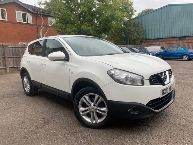 USED 2013 13 NISSAN QASHQAI 1.5 ACENTA DCI  5d 110 BHP REAR PARKING SENSORS, BLUETOOTH, AUTO LIGHTS AND WIPERS