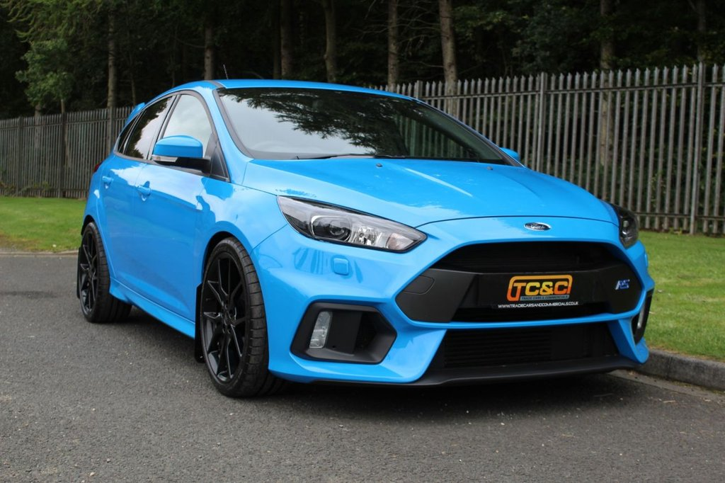 USED 2016 16 FORD FOCUS 2.3 RS 5d 346 BHP A STUNNING COLLECTABLE EXAMPLE WITH ONLY 4K MILES, SHELL SEATS, FULL HISTORY!!!
