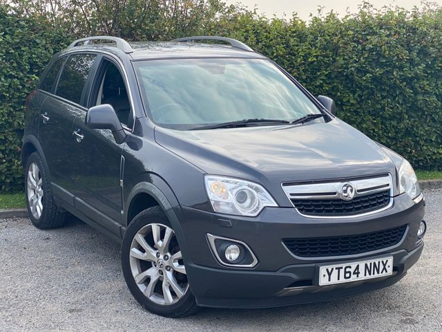 USED 2014 64 VAUXHALL ANTARA 2.2 SE NAV CDTI S/S 5d 161 BHP FULL HEATED LEATHER, SATELLITE NAVIGATION