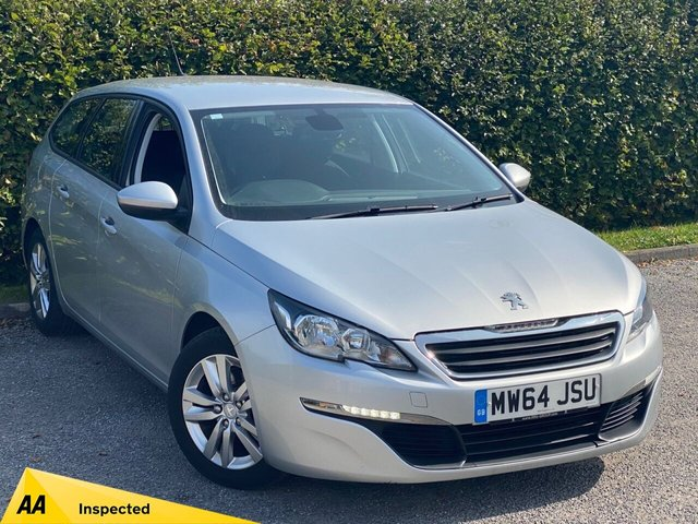 USED 2014 64 PEUGEOT 308 1.2 E-THP SW ACTIVE 5d SATELLITE NAVIGATION, BLUETOOTH