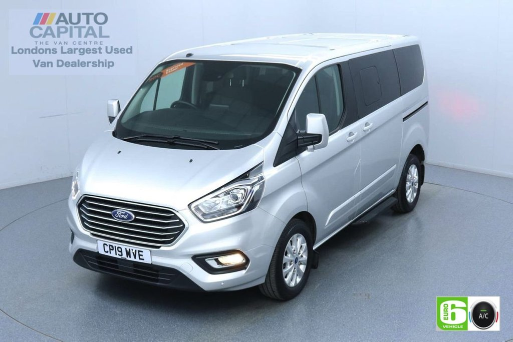 USED 2019 19 FORD TOURNEO CUSTOM 2.0 320 Titanium Auto 130 BHP L1 SWB 8 Seats Minibus Low Emission Automatic | 8 Seats | Air Con | F-R Sensors