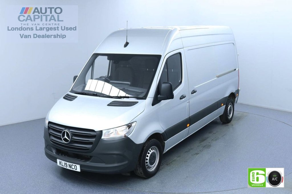 USED 2019 19 MERCEDES-BENZ SPRINTER 2.1 314 CDI 141 BHP L2 H2 MWB Euro 6 Low Emission Finance Available Online | Air Conditioning | Rear Tow Fitted