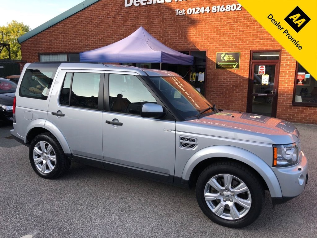 USED 2013 63 LAND ROVER DISCOVERY 3.0 4 SDV6 HSE 5d 255 BHP High specification