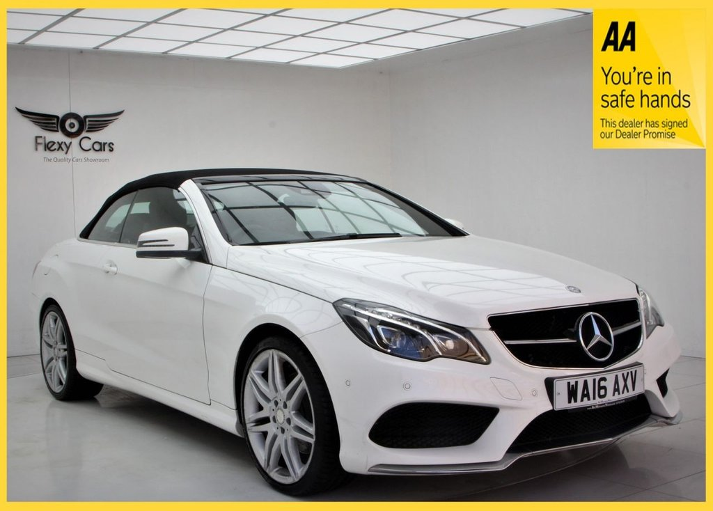 USED 2016 16 MERCEDES-BENZ E-CLASS 2.1 E 220 D AMG LINE EDITION 2d 174 BHP