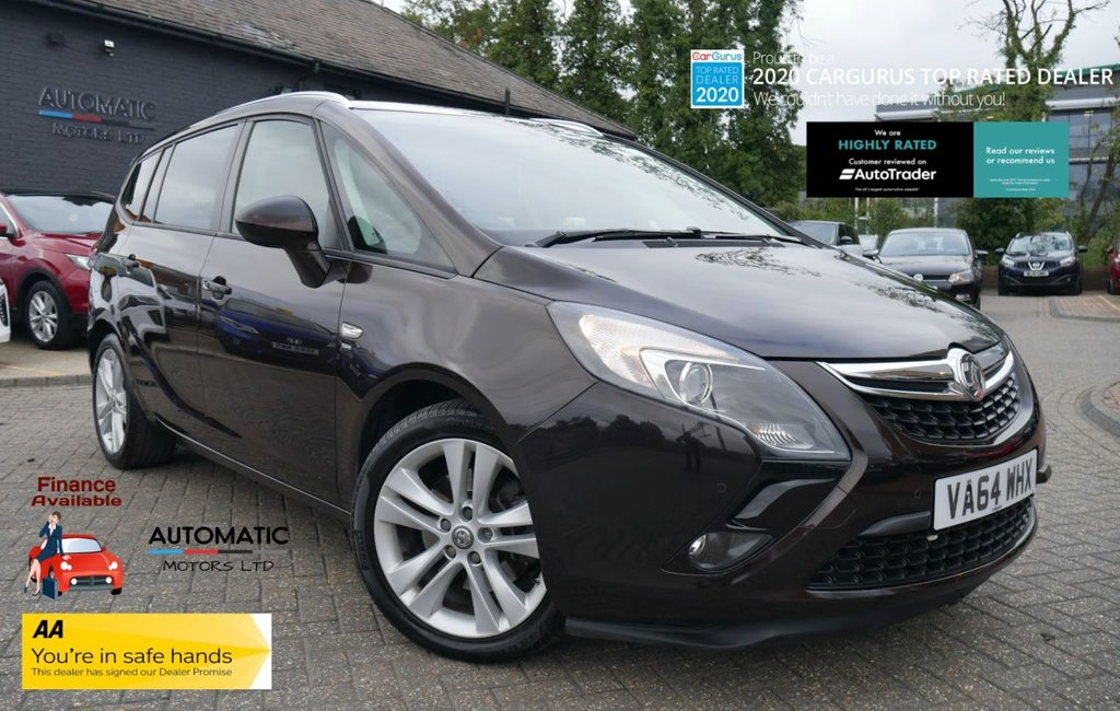USED 2015 64 VAUXHALL ZAFIRA TOURER 2.0 SRI CDTI 5d 162 BHP 2 KEYS, 1 OWNER FROM NEW USB/AUX, CRUISE CONTROL, PARKING SENSORS, AIR CONDITIONING