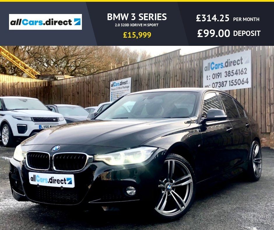 USED 2016 66 BMW 3 SERIES 2.0 320D XDRIVE M SPORT