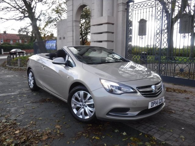 USED 2014 14 VAUXHALL CASCADA 2.0 SE CDTI S/S 2d 165 BHP *6 SERVICE STAMPS*ELECTRIC ROOF*ALLOY WHEELS*CRUISE CONTROL*12 MONTHS MOT
