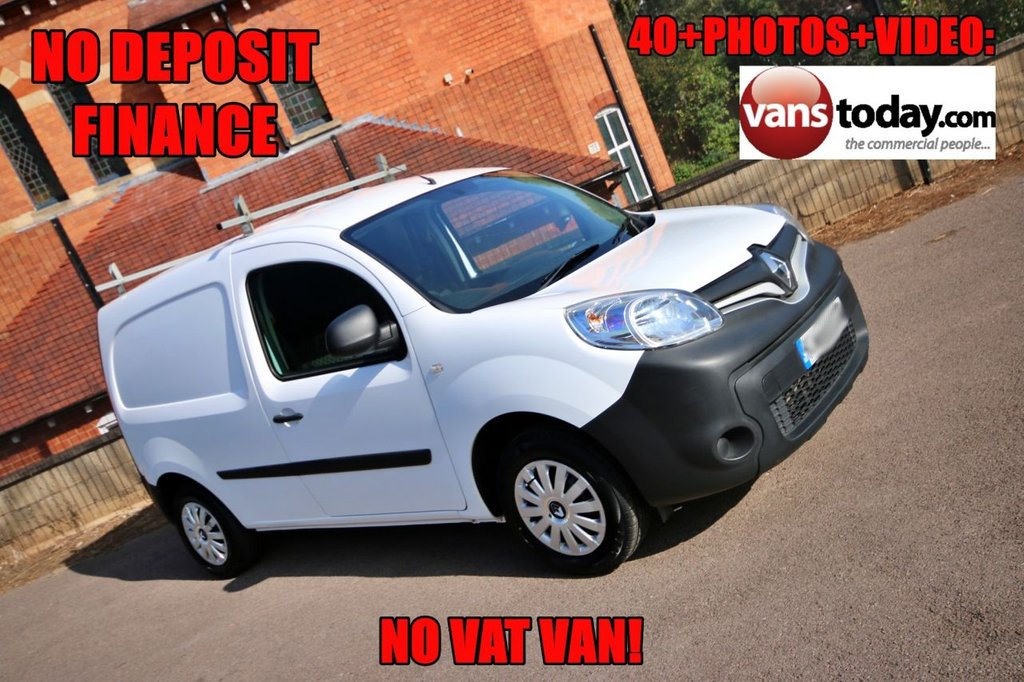 USED 2014 64 RENAULT KANGOO 1.5 ML19 DCI 75 BHP + NO VAT VAN! 2 OWNERS + NO VAT + TIDY VAN