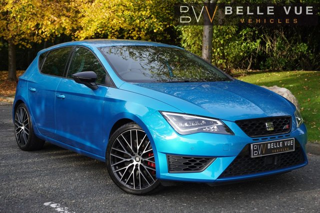 USED 2016 66 SEAT LEON 2.0 TSI CUPRA BLACK 5d 286 BHP - FREE DELIVERY* *1 FORMER KEEPER AND ONLY 18K MILES!*