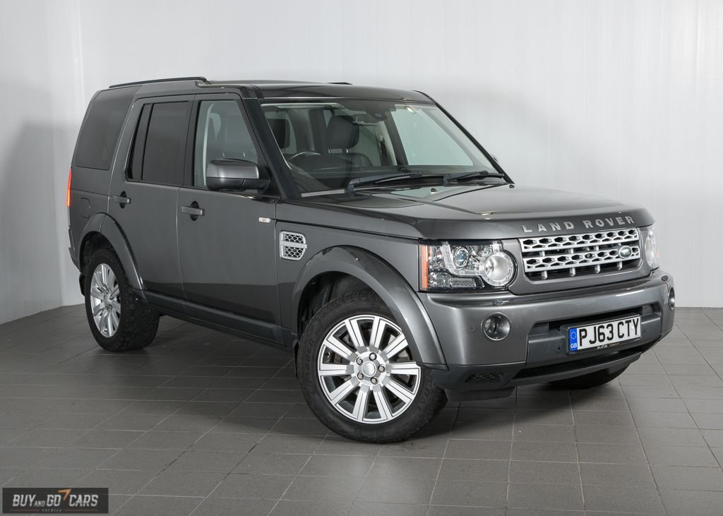 USED 2013 63 LAND ROVER DISCOVERY 3.0 4 SDV6 XS 5d 255 BHP Call us for Finance Availability and Delivery Options (7 Seats)