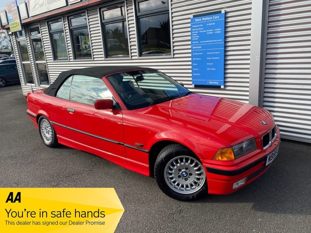 1995 Bmw 3 Series 328i Convertible 7 980