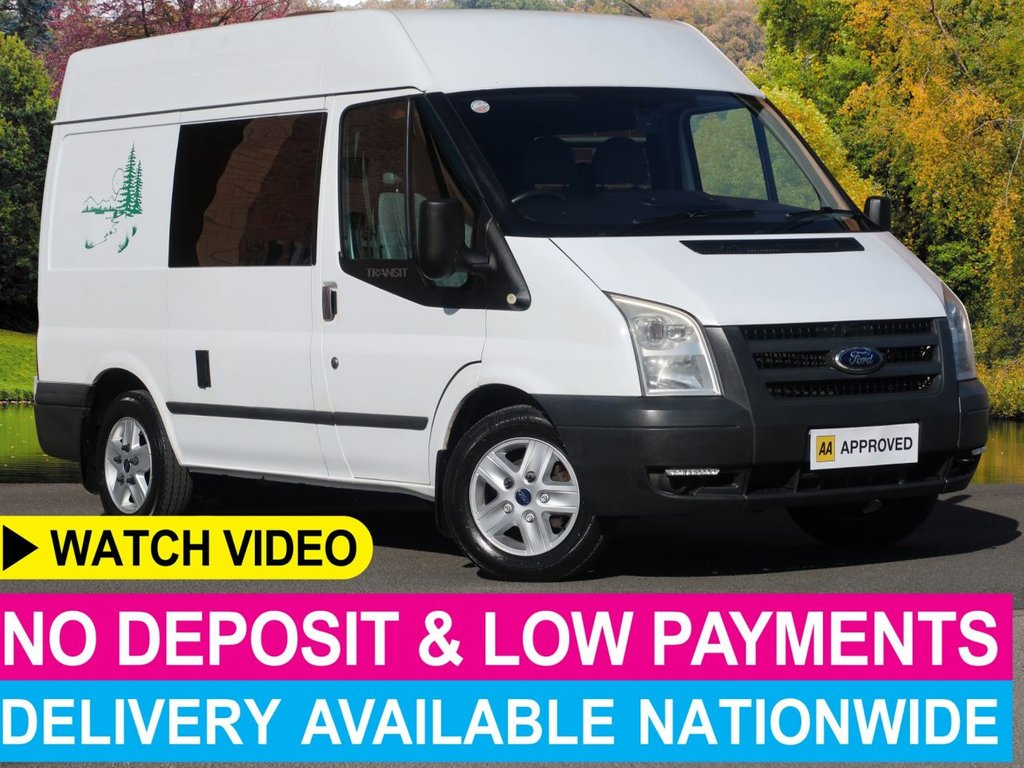 USED 2010 10 FORD TRANSIT 2.2 TDCI Motorhome Campervan Double Bed Cooker Sink Heater