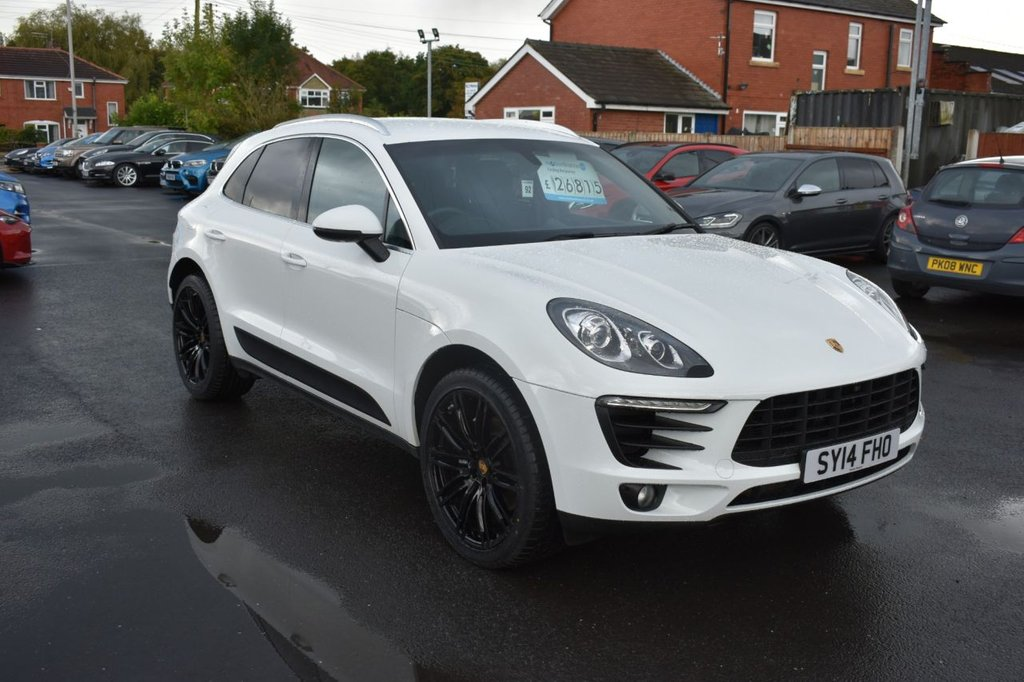 USED 2014 14 PORSCHE MACAN 3.0 D S PDK 5d 258 BHP MASSIVE SPECIFICATION