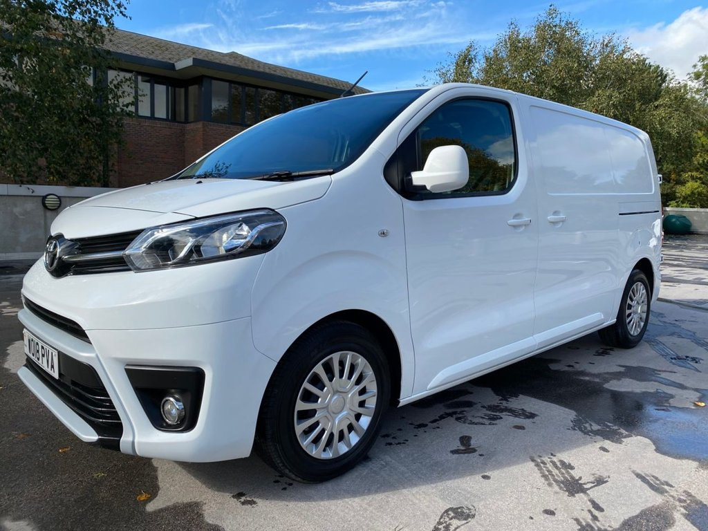 USED 2018 18 TOYOTA PROACE COMFORT 1.6D 115ps MWB *AIRCON*E/PACK*BLUETOOTH* COMFORT-AIRCON-AIRCON-2 x SLD