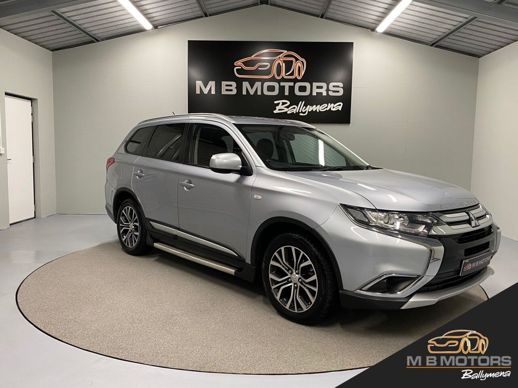 USED 2016 MITSUBISHI OUTLANDER GX 1 4WORK 2.3 DI-D 147 BHP **With Additional Seats**