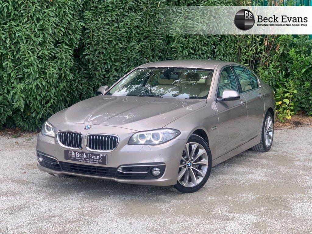 USED 2016 16 BMW 5 SERIES 3.0 530D LUXURY 4d 255 BHP
