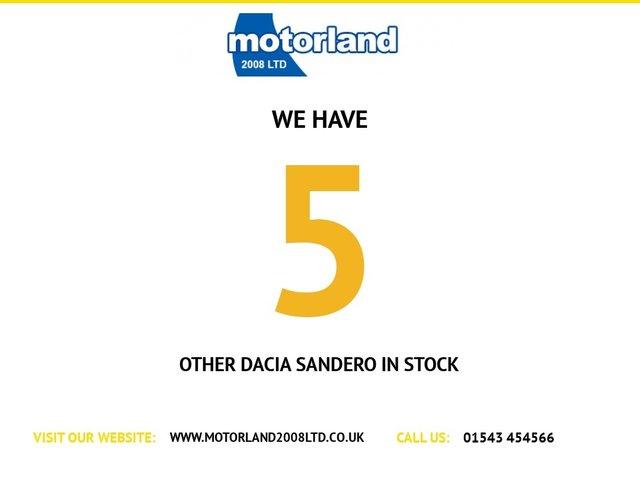 USED 2014 14 DACIA SANDERO 1.5 STEPWAY LAUREATE DCI 5d 90 BHP ** 01543 454566 ** JUST ARRIVED **