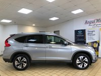 USED 2017 67 HONDA CR-V 1.6 I-DTEC SR 5d Family SUV Recent Service plus MOT and 4 new Tyres. Now ready to finance and drive away today THE PERFECT FAMILY SUV
