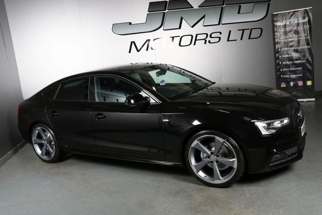 USED 2012 62 AUDI A5 DECEMBER 2012 AUDI A5 2.0 TDI S LINE BLACK EDITION STYLE 177 BHP ( FINANCE & WARRANTY)