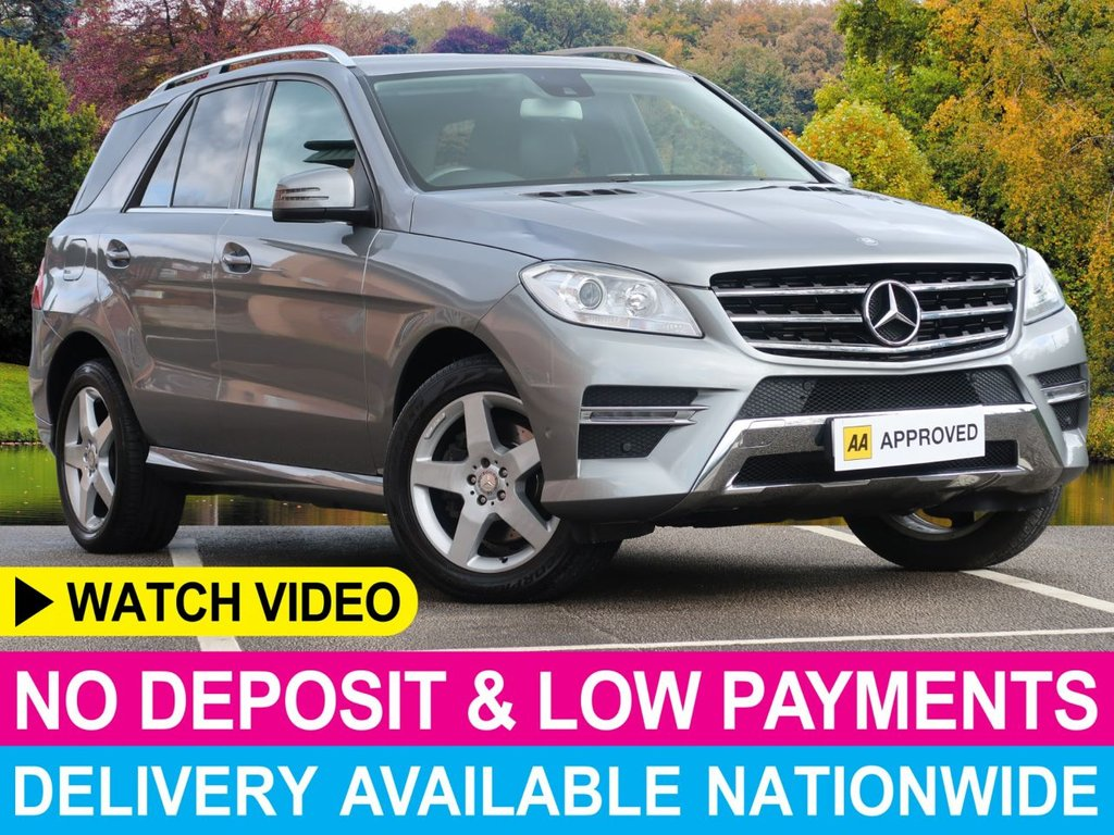 USED 2014 63 MERCEDES-BENZ M-CLASS ML350 CDI AMG Sport Auto 3.0 BlueTEC 5DR Sat Nav Leather Cruise Climate