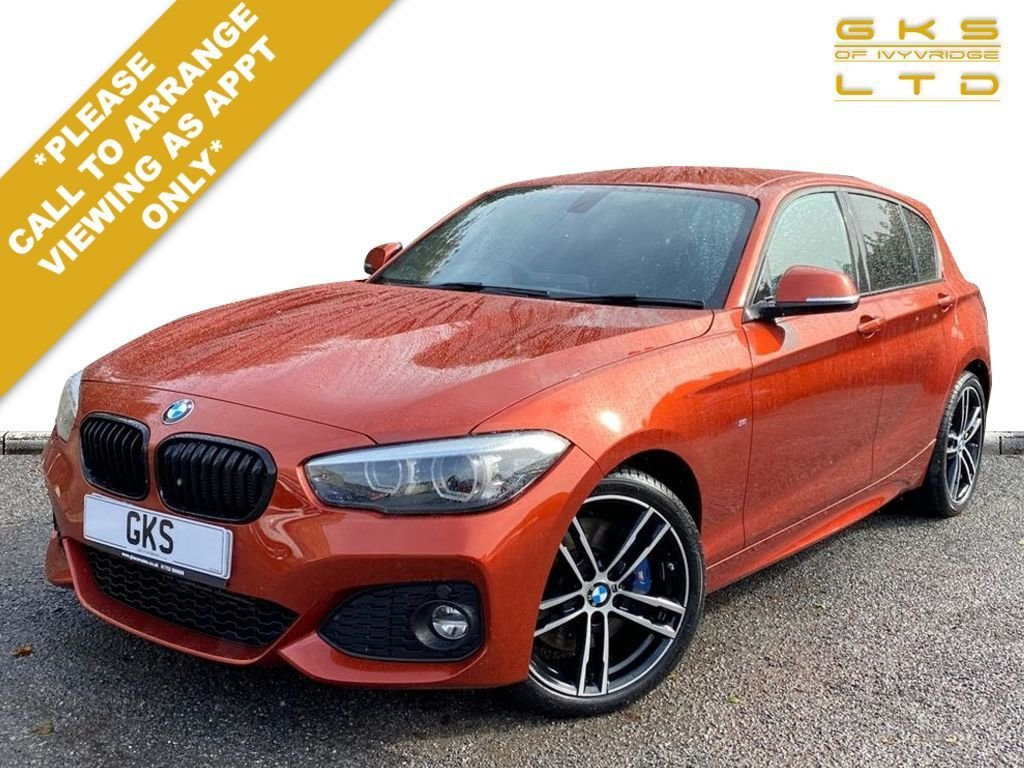 USED 2017 67 BMW 1 SERIES 2.0 118D M SPORT SHADOW EDITION 5d 147 BHP ** NATIONWIDE DELIVERY AVAILABLE **