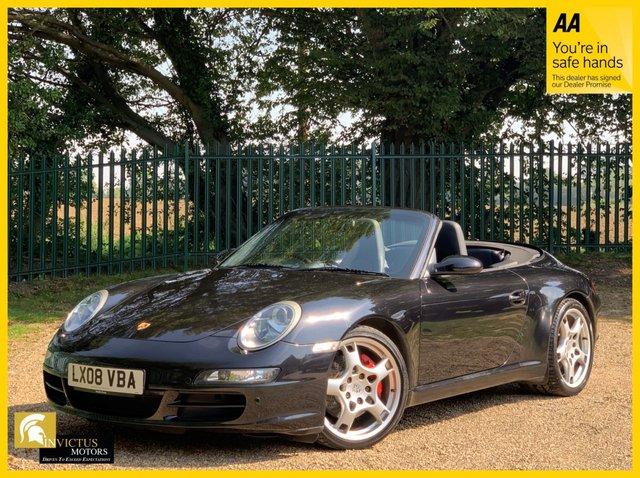 2008 08 PORSCHE 911 3.8 CARRERA 2 TIPTRONIC S 2d 355 BHP