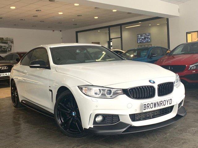 USED 2016 66 BMW 4 SERIES 3.0 430D M SPORT 2d 255 BHP BM PERFORMANCE STYLING+6.9%APR