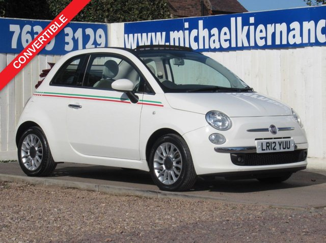 USED 2012 12 FIAT 500 1.2 C LOUNGE 3d 69 BHP VERY NICE CAR