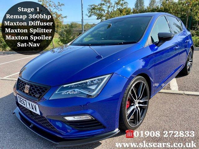 2017 67 SEAT LEON 2.0 TSI CUPRA DSG 5d 297 BHP