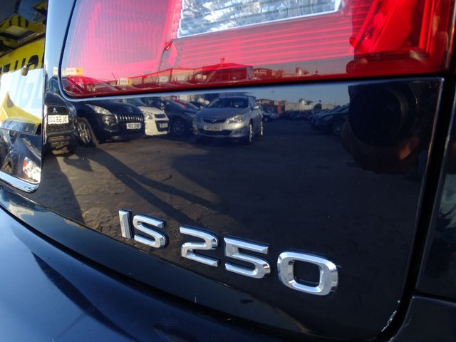USED 2007 57 LEXUS IS 2.5 250 SE-L 4d 204 BHP MASSIVE SPEC