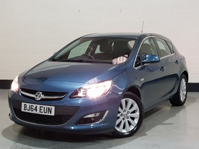 USED 2014 64 VAUXHALL ASTRA 2.0 ELITE CDTI S/S 5d 163 BHP 1 Prev Owner/ Leather Seats / Parking Sensors / £20 Tax
