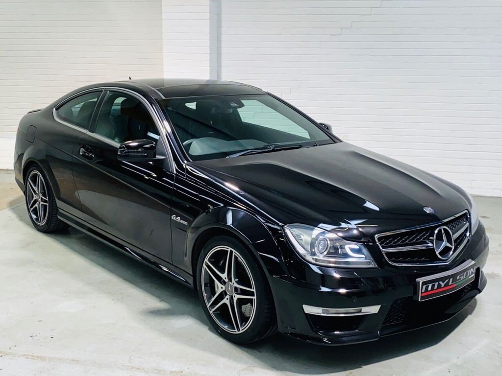 USED 2012 62 MERCEDES-BENZ C-CLASS 6.2 C63 AMG EDITION 125 2d 457 BHP Ultra Low Mileage Edition 125 Spec C63 with Full Mercedes Service History