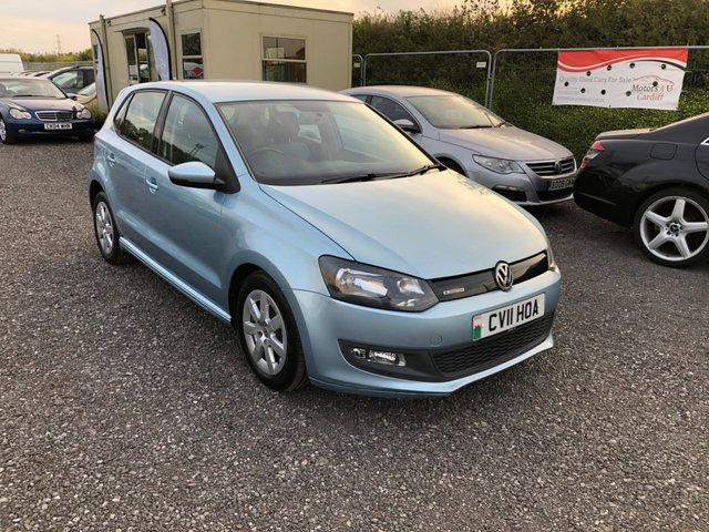 2011 11 VOLKSWAGEN POLO 1.2 BLUEMOTION TDI 5d 74 BHP