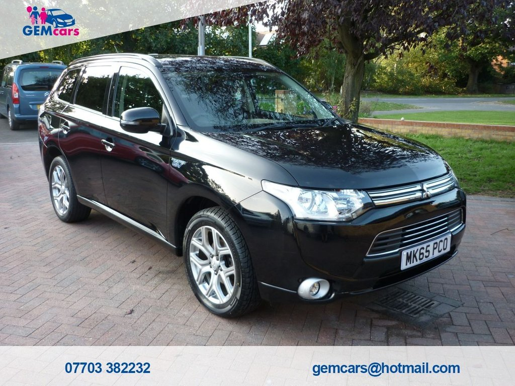 USED 2015 65 MITSUBISHI OUTLANDER 2.0 PHEV GX 3H 5d 162 BHP GO TO OUR WEBSITE TO WATCH A FULL WALKROUND VIDEO