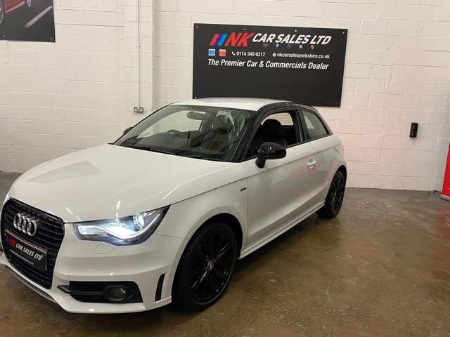 USED 2014 14 AUDI A1 1.6 TDI S LINE STYLE EDITION 3d 103 BHP LED LIGHTS EXENONS,