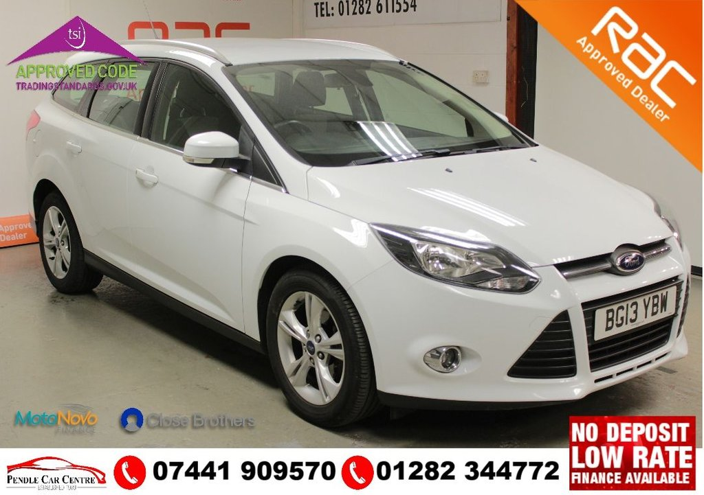 USED 2013 13 FORD FOCUS 1.6 ZETEC TDCI 5d 113 BHP RAC APPROVED PACKAGE INCLUDED + BLUETOOTH + CRUISE CONTROL + CLIMATE CONTROL + ALLOYS...