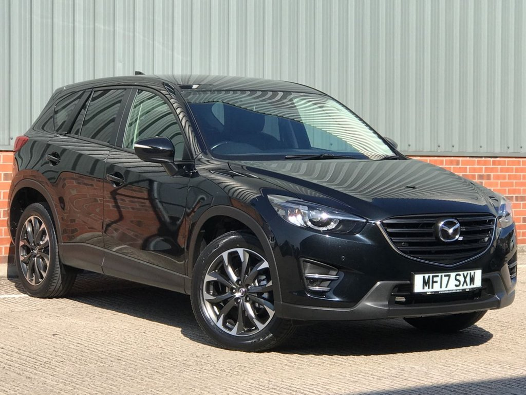 USED 2017 17 MAZDA CX-5 2.2 D SPORT NAV 5d 148 BHP EXCELLENT ONE OWNER FROM NEW EXAMPLE