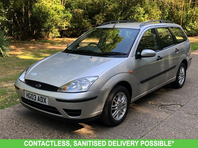 USED 2003 03 FORD FOCUS 1.6 LX 5d 99 BHP 1 OWNER * VERY LOW MILEAGE FINANCE ME TODAY-UK DELIVERY POSSIBLE
