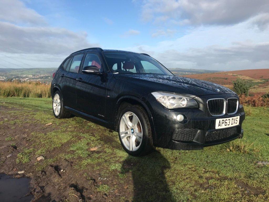 USED 2014 63 BMW X1 2.0 SDRIVE18D M SPORT 5d 141 BHP