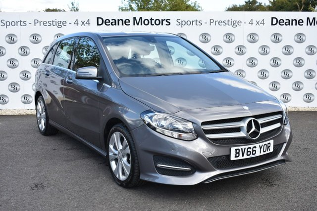 2016 66 MERCEDES-BENZ B-CLASS 1.5 B 180 D SPORT EXECUTIVE 5d 107 BHP SAT NAV