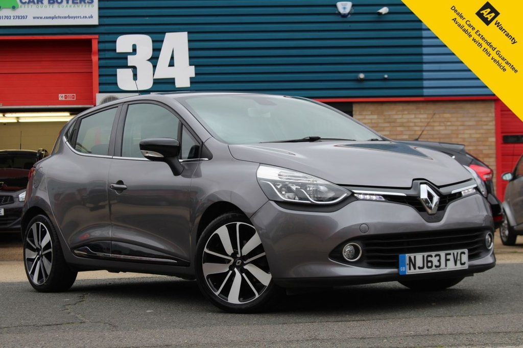 USED 2013 63 RENAULT CLIO 0.9 DYNAMIQUE S MEDIANAV ENERGY TCE S/S 5d 90 BHP