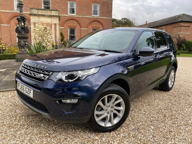 2016 66 LAND ROVER DISCOVERY SPORT 2.0 TD4 SE TECH 5d 180 BHP