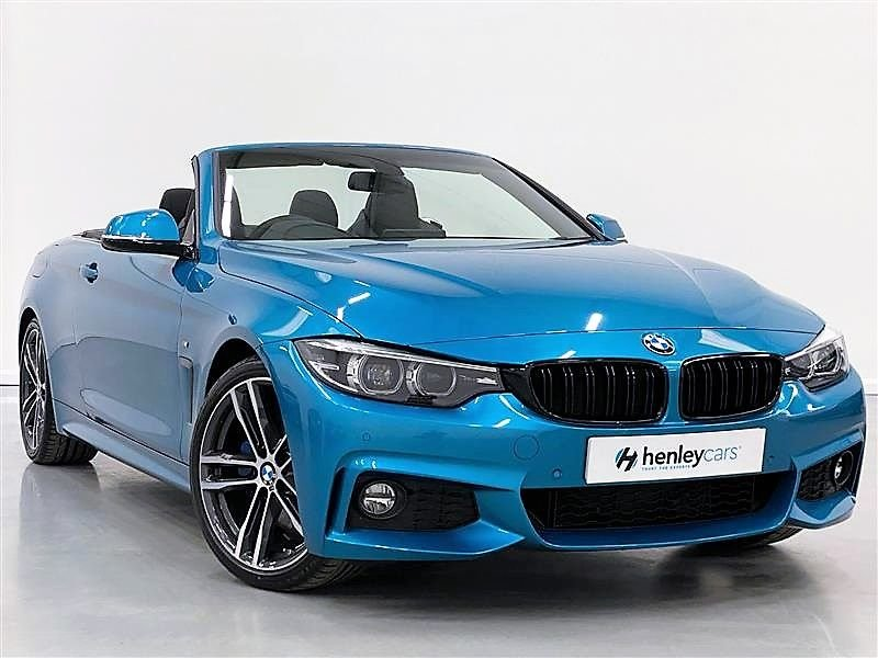 USED 2018 18 BMW 4 SERIES 2.0 420I M SPORT