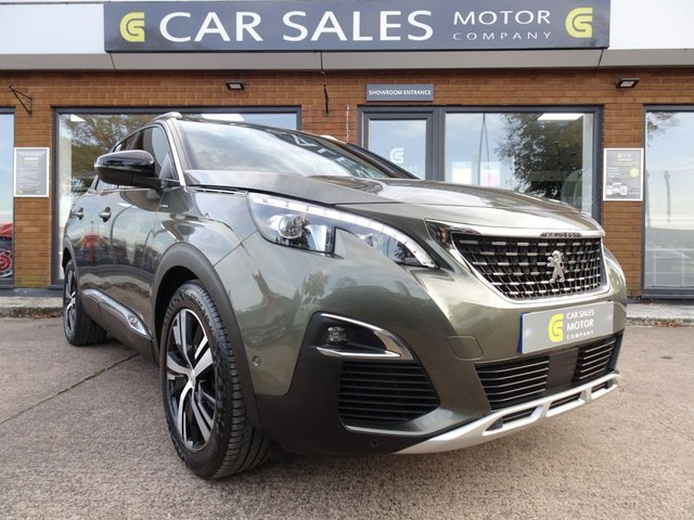 USED 2018 68 PEUGEOT 3008 1.5 BLUEHDI S/S GT LINE 5d 129 BHP ONE OWNER FROM NEW, JUST HAD A FULL SERVICE DONE, TOP SPEC SAT NAV, REVERSE CAMERA, PARTIAL LEATHER INTERIOR, ALLOY WHEELS, BALANCE OF MANUFACTURERS WARRANTY TILL DEC 2021, HPI CLEAR