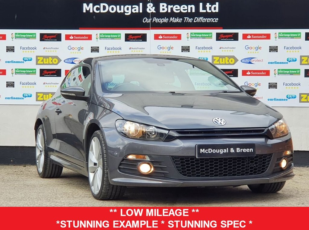 USED 2013 63 VOLKSWAGEN SCIROCCO 2.0L R LINE TDI BLUEMOTION TECHNOLOGY 2d 140 BHP