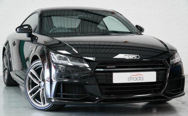 2017 17 AUDI TT 2.0 TDI QUATTRO BLACK EDITION 2d 182 BHP