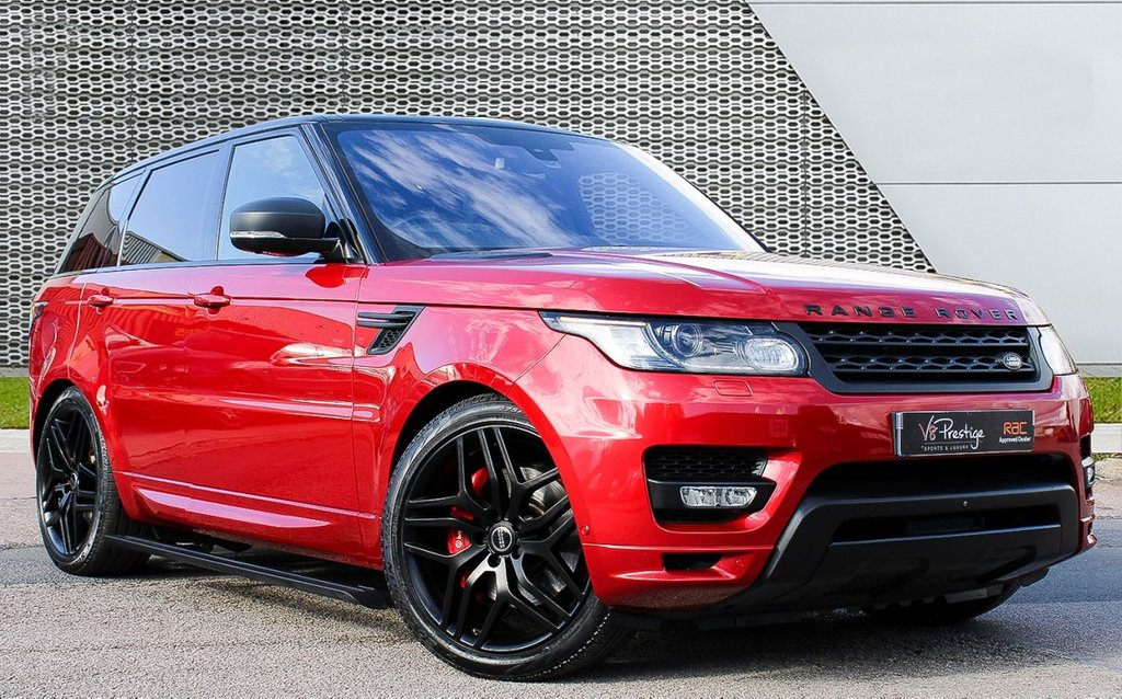 USED 2015 65 LAND ROVER RANGE ROVER SPORT 3.0 SDV6 AUTOBIOGRAPHY DYNAMIC 5d 306 BHP **7 SEATS/REAR ENTERTAINMENT/HUGE SPEC**